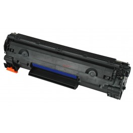 HP 36A Black, CB436A Toner Cartridge - Premium Compatible